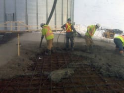 Ready-Mix Concrete Pour